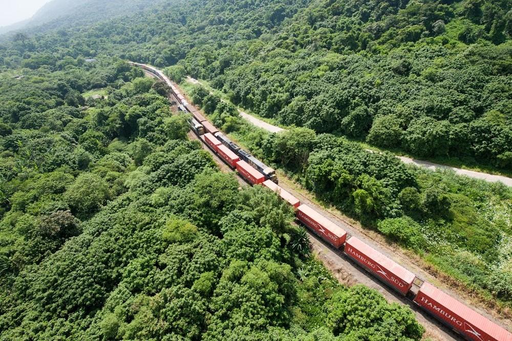 malha ferroviária